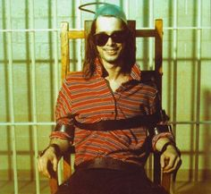 John Waters in the electric chair from Female Trouble starring Divine John Waters Movies, Underground Film, Star Wars, Stand Up Comedians, Deep Water, Film Director, No One Loves Me, Role Models, My Idol
