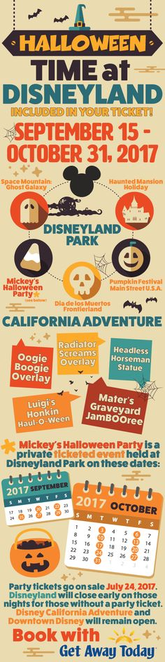 Halloween Time at Disneyland 2017 || Get Away Today