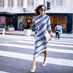 diagonal stripe Ann Taylor dress   Skirt the Ceiling   skirttheceiling.com