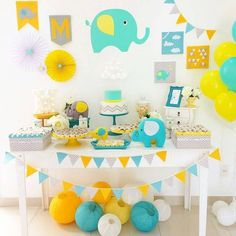 temas para baby shower niño 2018 - Everythink for Babyshower Baby Shower Brunch, Baby Shower Deco, Unisex Baby Shower, Baby Shower Yellow, Baby Shower Backdrop, Baby Shower Balloons, Baby Shower Cards, Baby Shower Themes, Baby Boy Shower