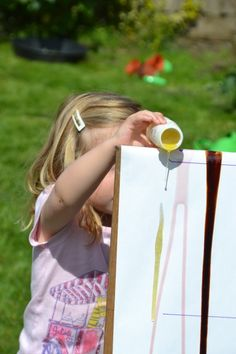 Viscosity Races - I love how something so simple can become a great little science experiment!