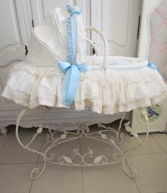 Angela Lace: Lace Covered Baby Pram