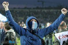 Фанаты на чемпионском матче Зенита