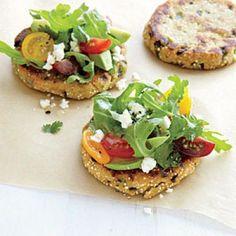 Poblano Sopes with Avocado Salad | CookingLight.com