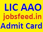 LIC AAO Admit Card 2014 Download Assistant Administrative Officer Hall Ticket