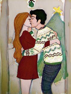 Teen Wolf Tumblr, Teen Wolf Fan Art, Teen Wolf Ships, Teen Wolf Memes, Teen Wolf Funny, Art Love Couple, Cute Couple Cartoon, Couples Comics, Stydia