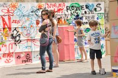 ArtBoom Festival 2012 - The roboczogodzina collective: Maliborski Szymon, Chudzicka Agnieszka, Chudzicki Michał - PUDŁO! - Workshop – an explosion of creativity - pic.Weronika Szmuc