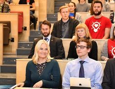 Crown Princess Mette-Marit attend Seminar at Norwegian University of Science and Technology