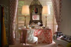 Hollywood Regency Interiors | En cuanto a la iluminación, los candelabros y las aparatosas ...