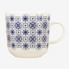 Kopjes Lissabon Tasse (blau-weiß)
