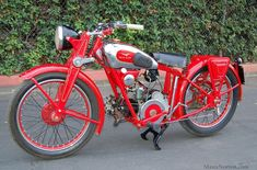 """1939 Moto Guzzi 250cc Egretta Very rare 1939 Moto Guzzi 250cc Egretta in good running and riding condition. This model was only made for two years and is a cross between the earlier """"P Series"""" and the soon to be famous Airone models. This bike has the frame and chassie of the earlier 175cc bikes but has the newer 250cc motor. A nice older restoration with some scratches and scrapes and definitely not a very common bike even in Italy. Courtesy Moto Guzzino"""