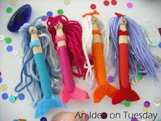 An idea on Tuesday: Pirates and Mermaids
