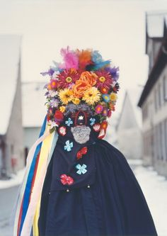 In his book 'Dusk', Axel Hoedt photographs carnival-goers away from the crowds in Germany, Austria and Switzerland.