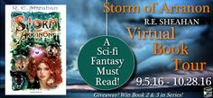 Blog Tour & Giveaway: Storm of Arranon by R.E. Sheahan