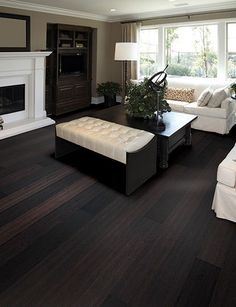beautiful and warm, this bamboo floor complements the rich golden