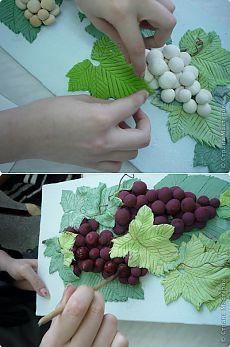 Виноград из соленого теста | Farfor Krakelur