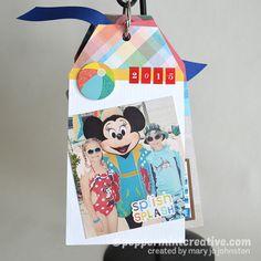 DIY Paper Crafts: Mini Tag Album Tutorial
