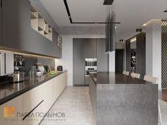 Фото дизайн кухни из проекта «Пятикомнатная квартира в стиле минимализм, ЖК «Классика», 208 кв.м.»