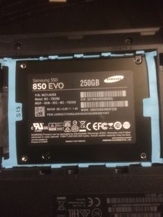 Added an #SSD to my #Laptop