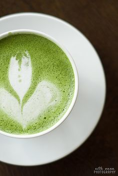 matcha tea: incredibly healthy, incredibly energizing, smooth and powdery.. yumm