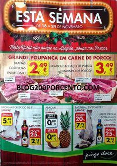 Antevisão Promoções Folheto Pingo Doce - de 18 a 24 de Novembro - Folheto Esta Semana