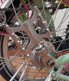 MKS Ti Pedal Holder