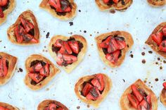 #Nutella Strawberry Puff Pastry Hearts #recipe via A Life Well Consumed http://www.yummly.com/recipe/Nutella-Strawberry-Puff-Pastry-Hearts-1504038