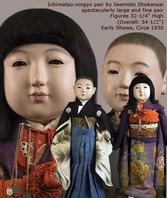 Ichimatsu Ningyo Archives - Antique Japanese Dolls
