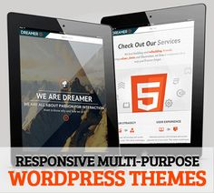 WordPress Themes Multipurpose & Responsive