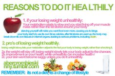 reasons to lose weight healthily