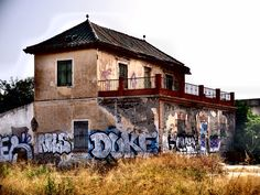 Torre de Benagalbón. Graffiti o vandalismo ?