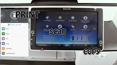 Ricoh MFP Print, Scan & Copy using NFC