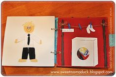 How to Make a Quiet Book-from OT Tools for Public Schools. These make excellent sensory books. Pinned by SOS Inc. Resources @sostherapy.