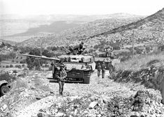 The New Service Days For Idf Centurion During 1967 Six Day War