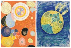 Long before Kandinsky and Mondrian, this mysterious Swedish artist painted enigmatic works that are only now beginning to be valued in all its dimensions. Mondrian, Kandinsky, Hilma Af Klint, New York Museums, Unsung Hero, Abstract Art, Culture, Painting, Artworks