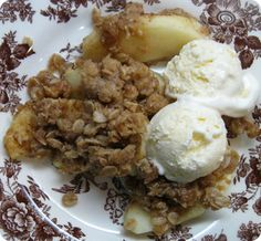 apple crisp by ina garten