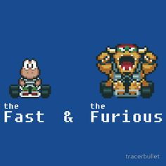 """""""the Fast & The Furious"""" by Mario Kart Spoof Nintendo SNES"""