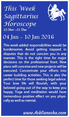 Sagittarius Monthly Horoscope