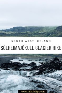 Ultimate travel guide to glacier hiking in South West on the Sólheimajökull glacier. Read for travel tips on what to wear & pack, WHY the glacier is so black & the best tours to join for the ultimate Iceland adventure #icelandtrip #icelandtravel #southIceland #GoldenCircleIceland #whattodoinIceland
