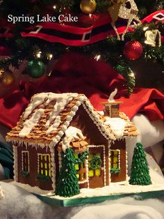 2010 Gingerbread House | by springlakecake