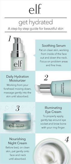 Hello hydration: hydrating and moisturizing skin care is here! Check out our easy guide to beautiful, glowing skin and shop the full skin care line, exclusively at elfcosmetics.com