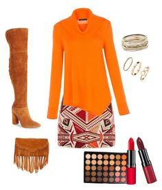 """""""Untitled #26"""" by renadagreer on Polyvore featuring Topshop, Marc Fisher LTD, BCBGMAXAZRIA, SUSU, Morphe, Rimmel, Kendra Scott and H&M"""