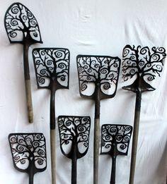 Spiral Tree shovels