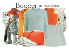 """Boober"" by leslieakay ❤ liked on Polyvore featuring Kenneth Jay Lane, Valentino, Saachi, malo, Vero Moda, MICHAEL Michael Kors, Converse, Auren, disney and disneybound"