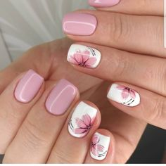 Best Nail Designs of 2019 – Latest Nail Art Trends – 17 These nail designs will be your indispensable. Stamp this summer with the latest trend nail designs. these great nail designs will perfect you. Now let's take a look at these designs Nail Design Spring, Fall Nail Art Designs, Spring Nail Art, Cute Nail Designs, Acrylic Nail Designs, Acrylic Nails, Coffin Nails, Nail Summer, French Nail Designs