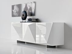 Lacquered sideboard with doors KAYAK By Cattelan Italia design Andrea Lucatello Deco Furniture, Bespoke Furniture, Design Furniture, Cabinet Furniture, Contemporary Furniture, Luxury Furniture, Cool Furniture, Handmade Furniture, White Sideboard