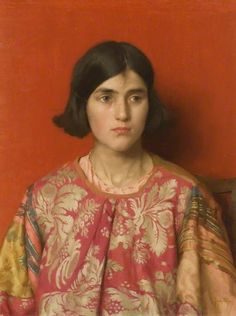 thomas cooper gotch(1854–1931), the exile: 'heavy is the price I paid for love', 1929–30. oil on canvas, 62 x 53 cm. alfred east art gallery permanent collection, uk http://www.bbc.co.uk/arts/yourpaintings/paintings/the-exile-heavy-is-the-price-i-paid-for-love-46021