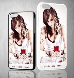 Christina Perri X0099 iPhone 4S 5S 5C 6 6Plus, iPod 4 5, LG G2 G3, Sony Z2 Case