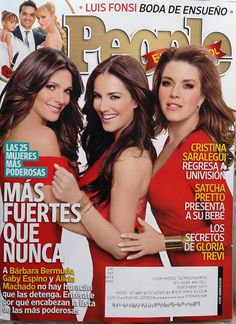 Barbara,Gaby Espino,Alicia Machado,2014,Noviembre,People en espanol,TV,Spanish