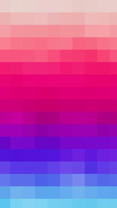 Rainbow Blue Mosaic Color Pattern iPhone 6 wallpaper